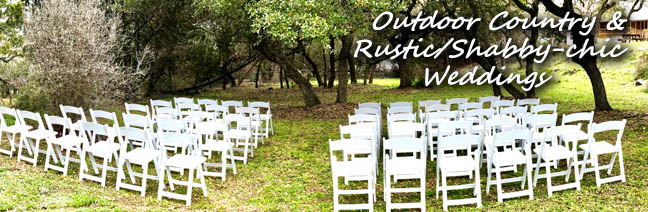 Rustic Outdoor Weddings