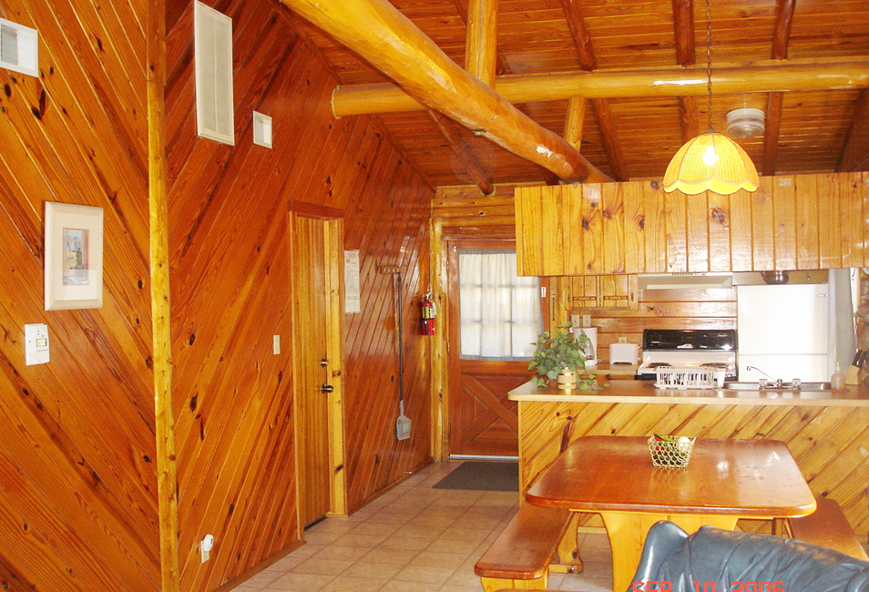 Log cabins at jacobs creek our cabins and rates - Interior design log home idea ...